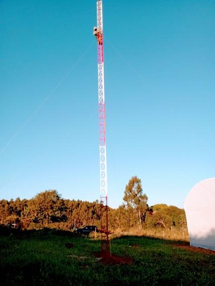 Torre Modelo Estaiada 50 Metros - Veja A Descrição
