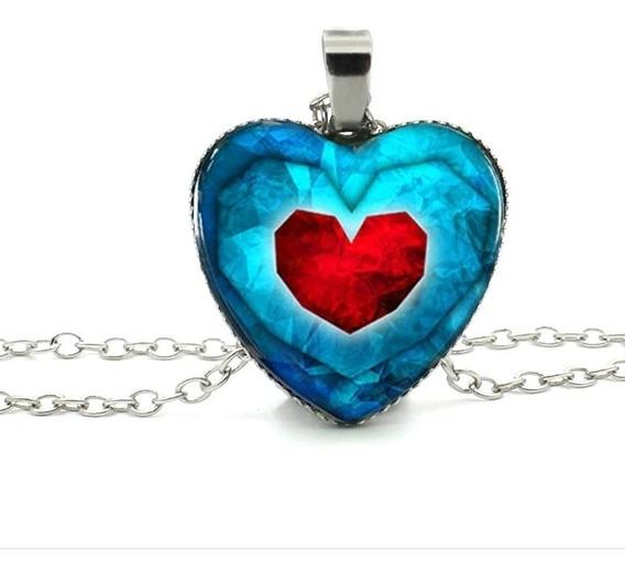 Collar Corazón Zelda Envío Gratis