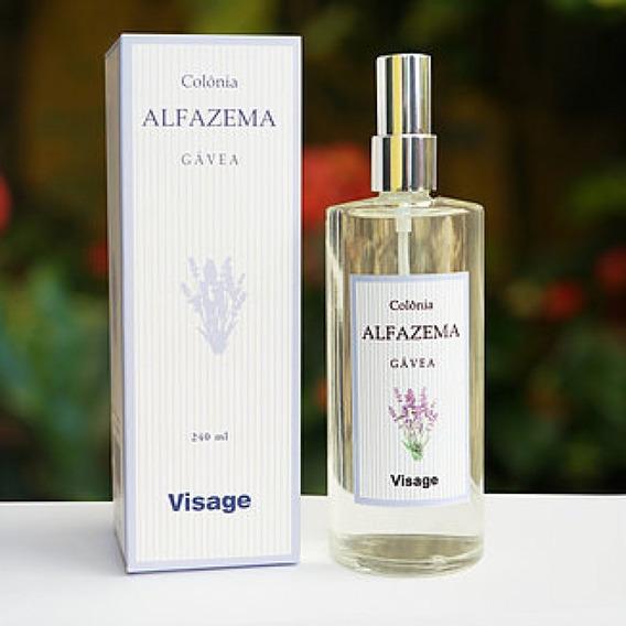 Perfume Nacional Visage Alfazema 240 Ml