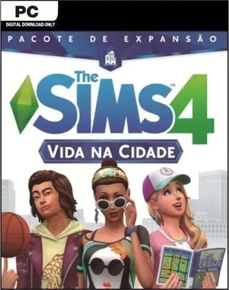 The Sims 4 Vida Na Cidade Pct De Expansão Midia Fisica Lacra