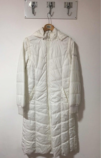 Campera Impermeable Rusty Color Blanco Mujer