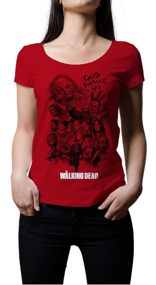 Remera Mujer Series Tv The Walking Dead | B-side Tees