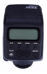 Flash Canon Ttl Mini Viltrox Jy610c P/ Camera -nao E 270ex A