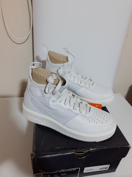 Zapatillas Nike Mujer Air Force 1 Ultraforce Mid 7.5 Us 37.5