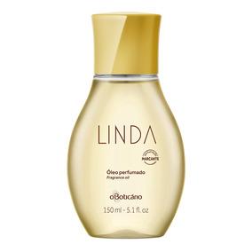 Linda Óleo Perfumado Desodorante Corporal, 150ml
