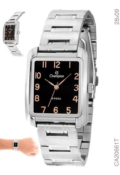 Relógio Analógico Unisex Social Champion Ca20661t