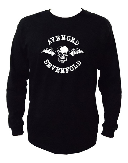 Avenged Sevenfold Playera Manga Larga Mod2