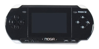 Consola Noganet Pocky 32 128MB negra/plata