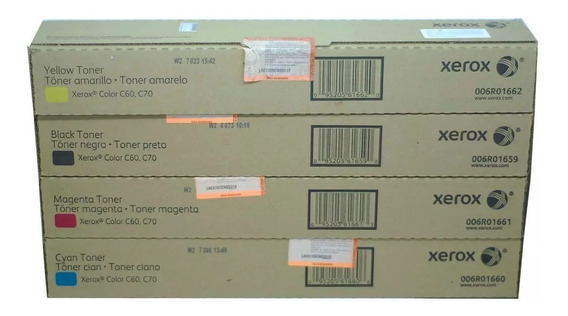 Kit Toner Xerox Original C60,c70