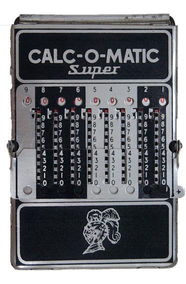 Antiga Calculadora Calc-o-matic Super Dec 40/50