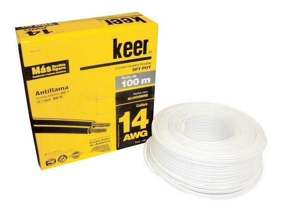 Cable Pot Keer #14 100 Mts Alucobre