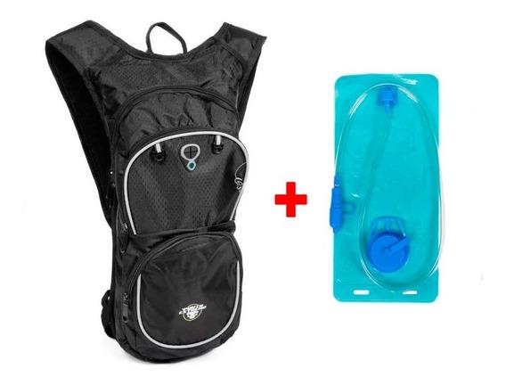 Camelback Mochila Hidratante Running Con Bolsa Agua 2lts Pe
