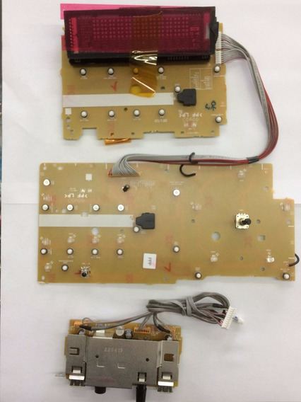 Placa Painel Frontal Shake5 1-888-453-11 Tc62d723fng Display