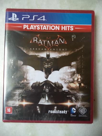 Jogo Batman Arkham Knight Mídia Física - Ps4