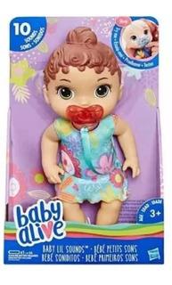 Muñeca Bebote Baby Alive Soniditos 10 Sonidos Con Chupete