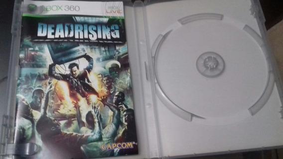 Box Dead Rising Xbox 360: Caixa E Manual Apenas