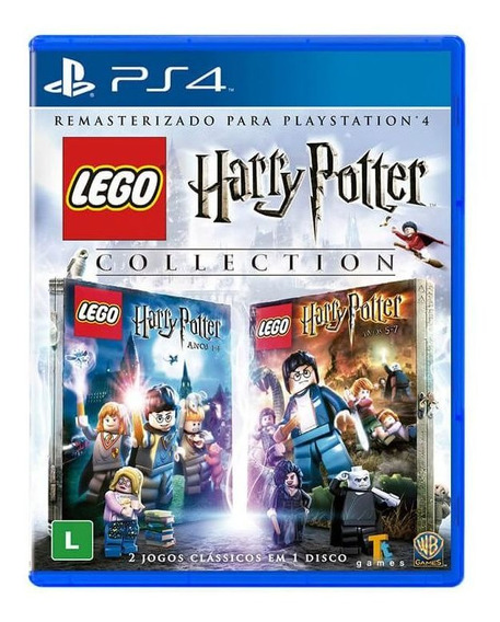 Jogo Lego Harry Potter Collection Ps4 Mídia Física Lacrado