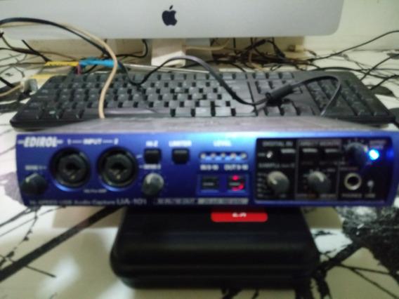 Roland Edirol Ua 101 Interface De Áudio Usb