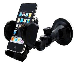Suporte Celular Vidro Ventosa Carro iPhone Android Gps Smart