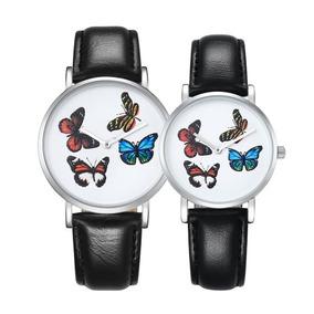 Reloj Par Cagarny 6812 Ronda Marcar Aleacion Manera Pu