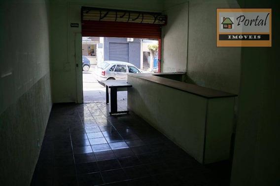 Salão Para Alugar, 80 M² Por R$ 1.200,00/mês - Vila São Paulo - Campo Limpo Paulista/sp - Sl0005