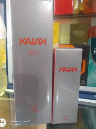 Imagen 1 de 2 de Kaiak Clásica De 100ml Y Kaiak De 25ml