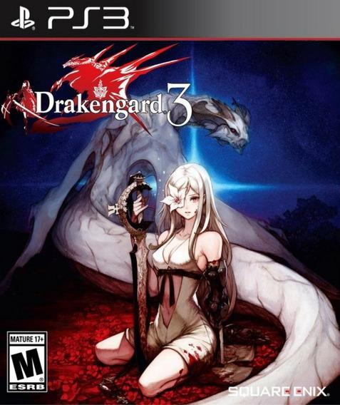 Drakengard 3 - Ps3 Psn Play 3 Pronta Entrega