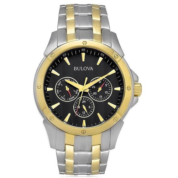 Relógio Bulova Wb21632p C/ Nf-e