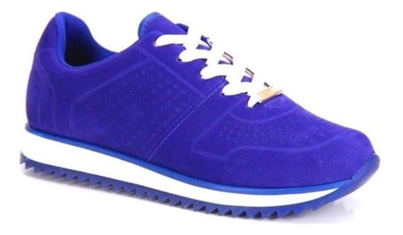 Tênis Vizzano Jogging Nobuck Azul Original Premium + Frete Grátis!!!!