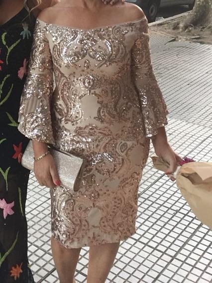 Vestido De Fiesta Importado Macys Usa Ultima Moda