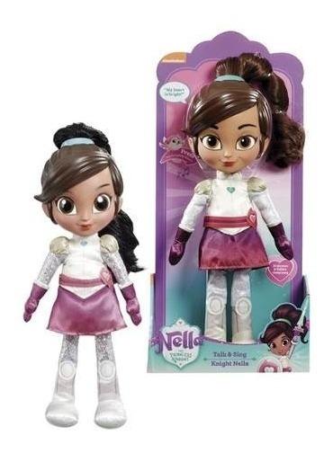 Boneca Princesa Nella Fala E Canta Em Portugues 32 Cm - Dtc