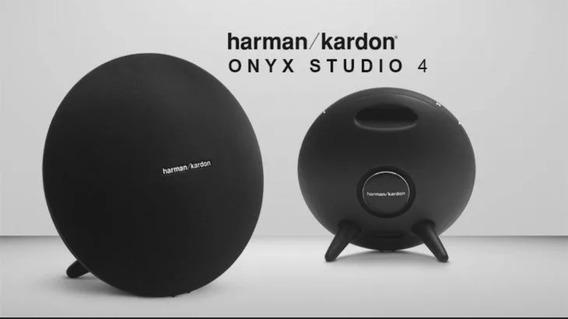 Caixa De Som Harman Kardon Onyx Studio 4 - Preto Ou Branco