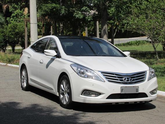 Hyundai Azera Top Gls 3.0 V6 2013 Branco Teto Solar Blindado