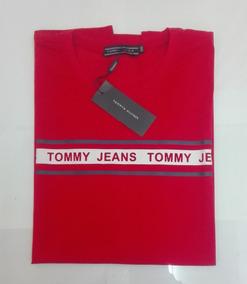 Playera Tommy Hilfiger Color Roja Talla Xxl Para Hombre 03