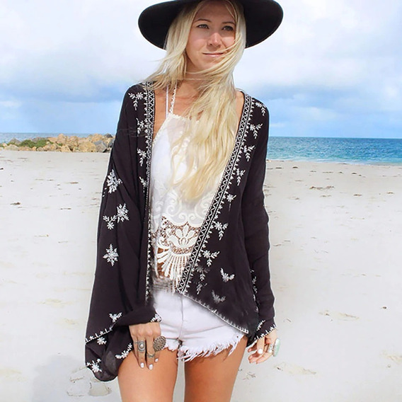Cardigan Kimono Chaqueta Importado Usa Playa Importado