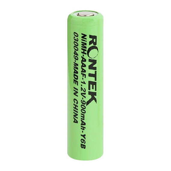 Bateria Pilha Recarregável 1.2v900mah Aaa Sem Top Kit C/10