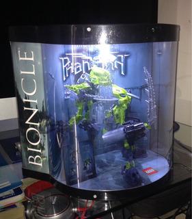 Módulo De Exhibición Con Bionicle.