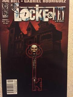 Cómic Locke & Key 8 Números.