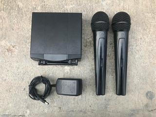 Microfonos Inalambricos Akg Mini Pro 2 Sr40