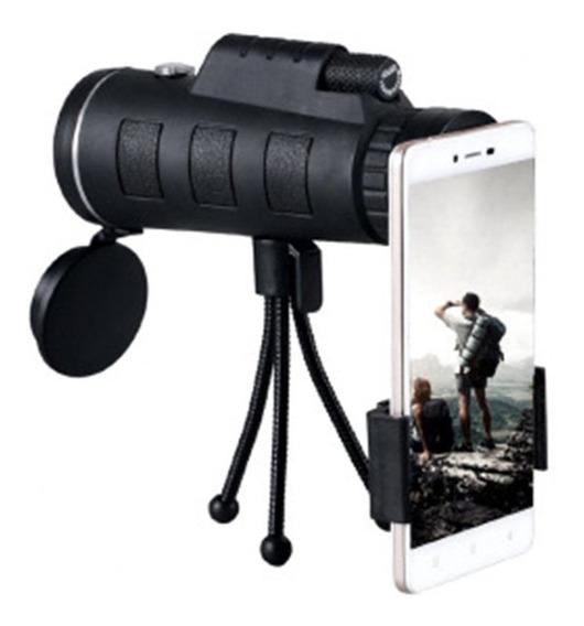 Telescópio Monocular De Prisma Com Tripé