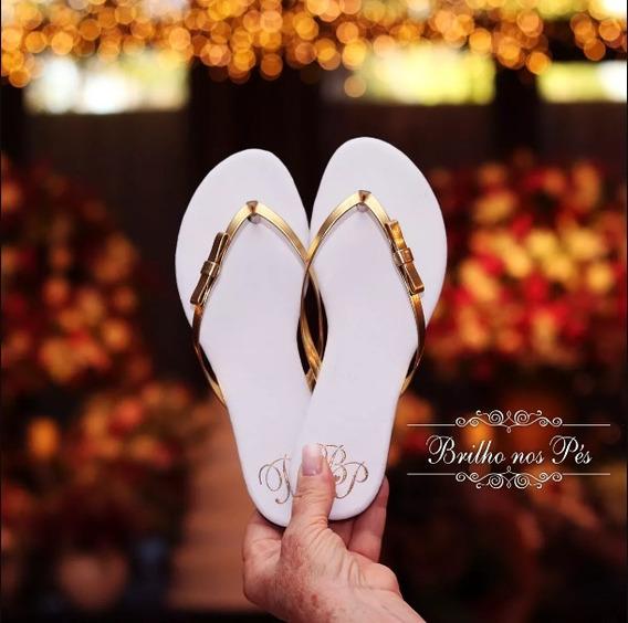 Rasteirinha Personalizada Para Casamento/ Eventos 90 Pares
