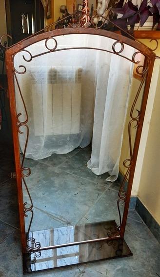 Espejo, En Hierro Artesanal