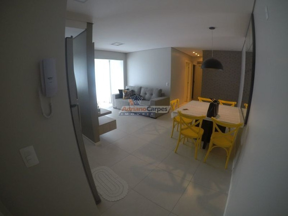 Adriano Carpes Imóveis Vende, Apartamento De Alto Padrão Com 3 Quartos Sendo 1 Uma Suíte Todo Mobiliado, Em Penha -sc - 1509