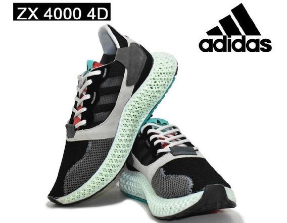 Tênis adidas Zx 4000 4d Grey Three Sneakers
