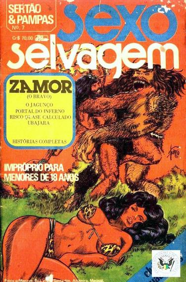 Sexo Selvagem Sertão & Pampas 3 Volumes 7, 8 E 9 Clube De Qu