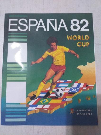 Reedição Oficial Album Figurinhas Espanha 82 World Cup