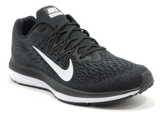 Tênis Feminino Nike Zoom Winflo 5 Preto Original