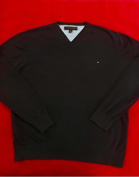 Suéter/sudadera Tommy Hilfiger Original Talla L/lacoste Polo