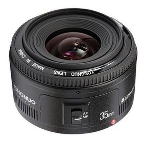Lente Yongnuo Yn 35mm F/2 Para Canon Autofoco