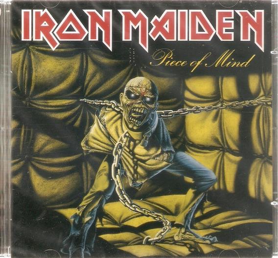 Cd Iron Maiden - Piece Of Mind - Novo Lacrado***